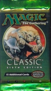 Magic the Gathering Classic Sixth Edition Booster Pack