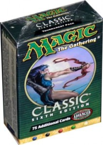 Magic the Gathering Classic Sixth Edition Starter Pack