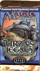 Magic the Gathering Urza's Legacy Booster Pack – The Urza's Block