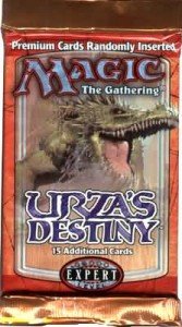 Magic the Gathering Urza's Destiny Booster Pack – The Urza's Block