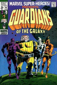 Marvel Super-Heroes Issue #18 first appearance of Guardians of the Galaxy