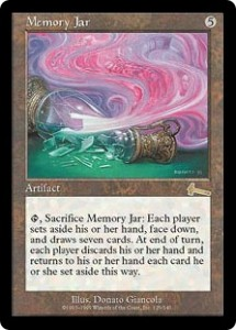 Memory Jar from Urza's Legacy