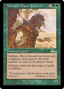 Multani, Maro-Sorcerer the Legend from Urza's Legacy