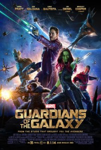 Official Guardians of the Galaxy Movie Poster