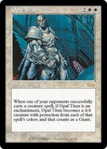 Opal Titan from Urza's Saga