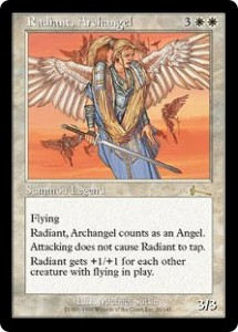 Radiant Archangel the Legend from Urza's Legacy
