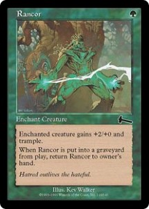 Rancor was arguably the best Perpetual Enchantment from Urza's Legacy