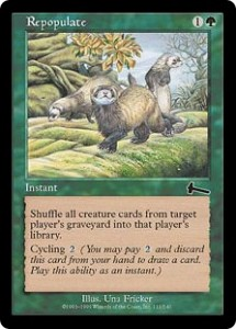 Repopulate from Urza's Legacy