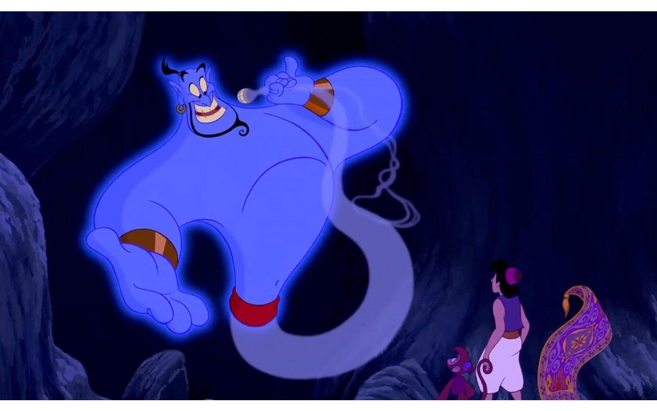 Disney Aladdin Genie Lamp | Jos Gandos Coloring Pages For Kids