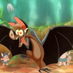 Robin Williams voiced Batty Koda in FernGully: The Last Rainforest