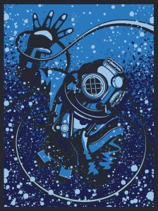The Challenger Deep by Ryan Lynn Design - SOLD OUT