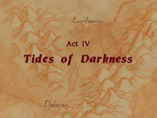 Act IV in Warcraft II Tides of Darkness