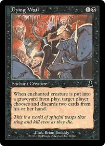 Dying Wail was Cheap Passive Discard