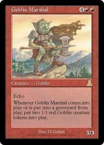 Goblin Marshal from Urza's Destiny