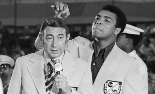 Howard Cosell and Muhammed Ali on ABC's Wide World of Sports