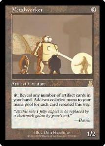 Metalworker from Urza's Destiny
