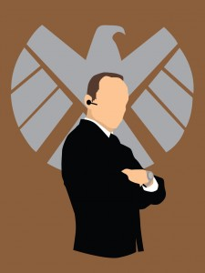 Minimalist Agent Coulson of SHIELD by nati nio