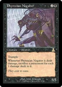 Phyrexian Negator from Urza's Destiny