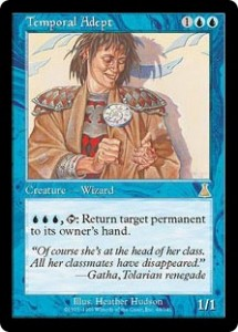 Temporal Adept from Urza's Destiny replaced Time Elemental