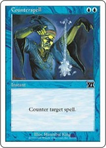 The classic Counterspell was reprinted in Classic Sixth Edition