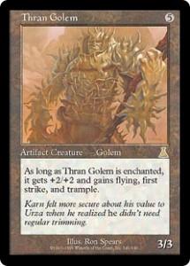 Thran Golem from Urza's Destiny