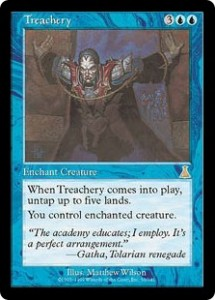 Urza's Destiny's Treachery was better than Control Magic