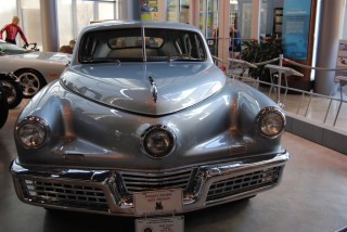 1948 Tucker on display at America On Wheels Museum