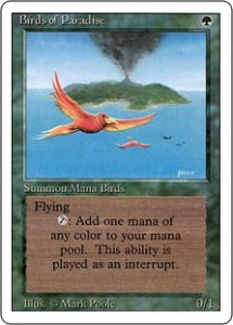 Birds of Paradise should have remained Summon Mana Birds