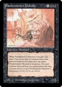 Frankenstein's Monster from The Dark