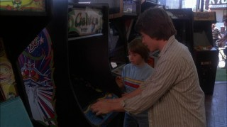 Lightman playing Galaga in WarGames