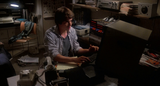 Matthew Broderick as David Lightman in WarGames