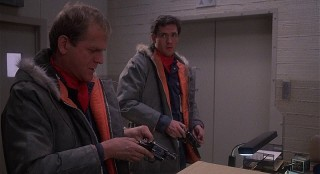 Michael Madsen and John Spencer in WarGames