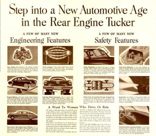 Step into a New Automotive Age in the Rear Engine Tucker