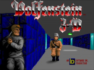 Wolfenstein 3-D Title Screen