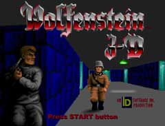 Wolfenstein 3-D or Wolf3D for short by id Software and 3D Realms