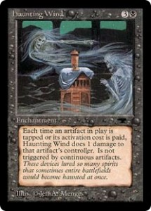 haunting Wind from Antiquities