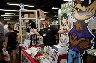 Chris Flick at The Great Allentown Comic Con