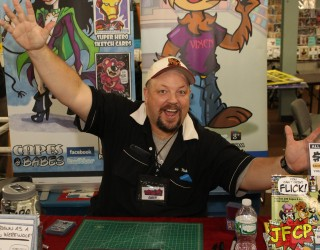 Chris Flick at The Great Allentown Comic Con Summer Show
