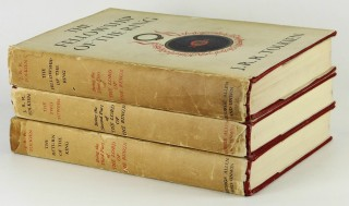 First Editions of The Lord of The Rings Trilogy