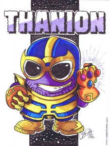 Thanion a Thanos Minion Mashup