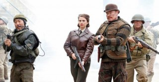 Agent Carter with the Howling Commandos