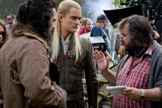 Bard Legolas and Peter Jackson