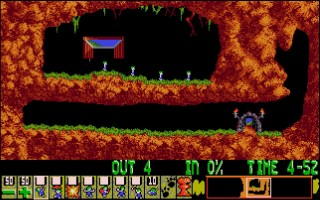 Lemmings Fun Difficulty Level One