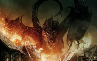 Smaug from The Hobbit: Battle of the Five Armies