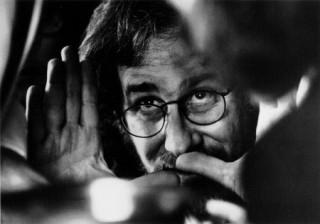 Steven Spielberg directing a shot