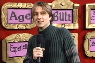Chris Hardwick was the host of MTV's Singled Out