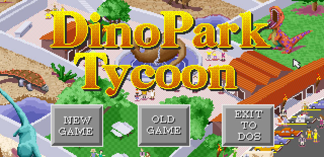 DinoPark Tycoon Retro Gaming Revisted Review