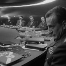 General Buck Turgidson sitting in the War Room
