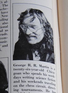 George R. R. Martin in February Issue of Gallery