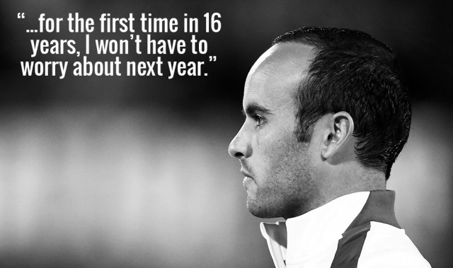 Landon Donovan on his Retirement from Professional Soccer